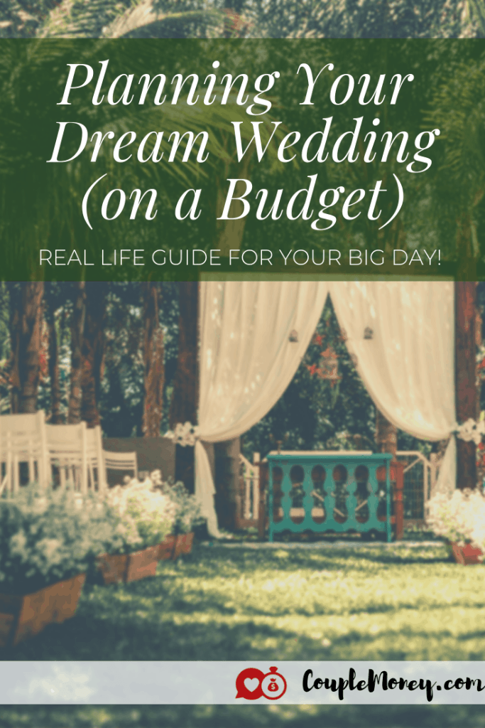 Want your big day to be memorable, but you're limited on funds? Learn how you can plan your dream wedding (without breaking your budget)!  #wedding #weddingtips #weddingbudget #weddingadvice #personalfinance
