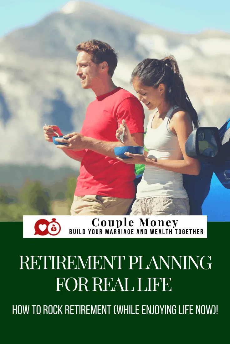 Feel like you have not enough time (or money!) to plan for retirement? Learn step by step how you two can rock retirement and still have fun now!  #retirement #investing #family #money