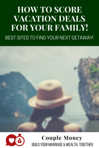 Need a getaway, but the budget is tight? Here are the best sites to score vacation deals for your family! #vacation #travel #travelDeals #vacationdeals