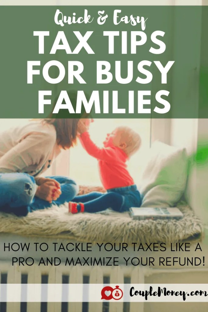 We're doing a quick and easy guide covering what you need to know this year when you file, how to maximize your tax refund, and set yourselves up with your finances for next year! #taxes #family #money
