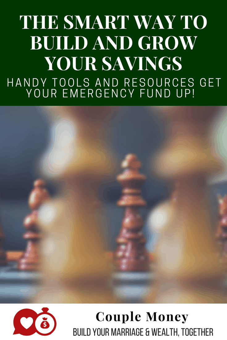 Most people know having savings is a smart money move, but don't have enough stashed away. Learn the smart way to build and grow your emergency fund! #savings #family #money