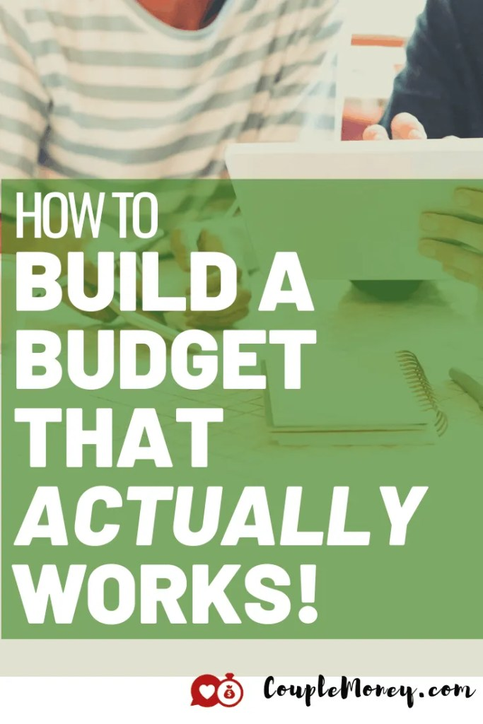 If 2020 has proved anything, it's that we need to have a budget that actually works. Today we'll dive in to see how you two can build a budget that fits you and your goals! #familybudgets #marriage #money
