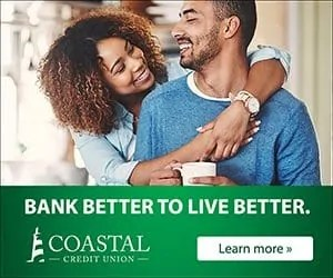 Coastal Credit Union sponsor