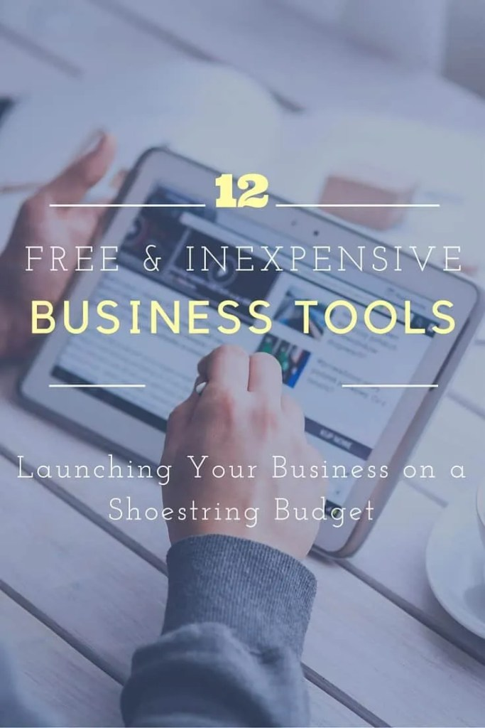 Launching a business? Here are free and low cost tools and resources you can use to build and expand it. .