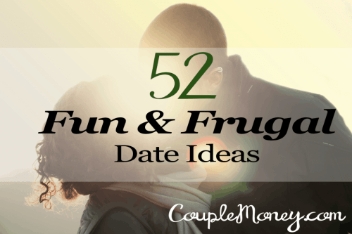 Pick up easy, frugal, & fun date ideas you can do together for an entire year (and beyond)!