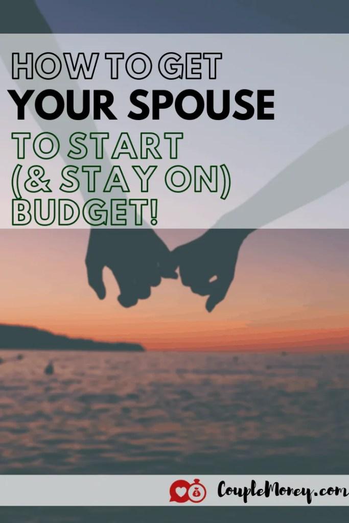 ¿Frustrado de que su cónyuge sigue gastando el presupuesto? ¡Aprenda cuatro formas clave en las que puede alentar y trabajar para crear y mantener el presupuesto! # matrimonio # dinero #familia #presupuestos