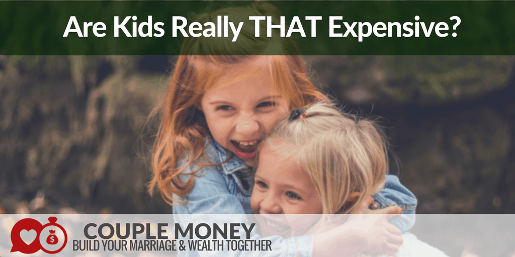 Is raising kids really expensive? I go over the numbers to share how you can save money while taking great care of your children! #family #money