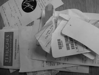 store receipts