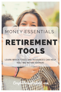 Learn how the two of you can set up your contributions so you can retire early!