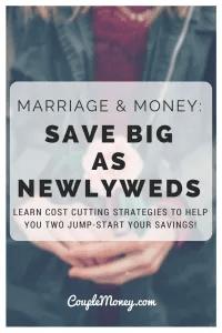 save as newlyweds couple money