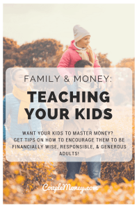 Want to teach your kids to master money? Sunny Lee shares how she's guiding her children to be smart and generous with their finances!