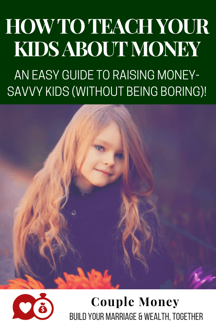 Want your kids to be generous, responsible, and money savvy? Here are 4 ways to teach your kids about money (without being boring)!  #family #money