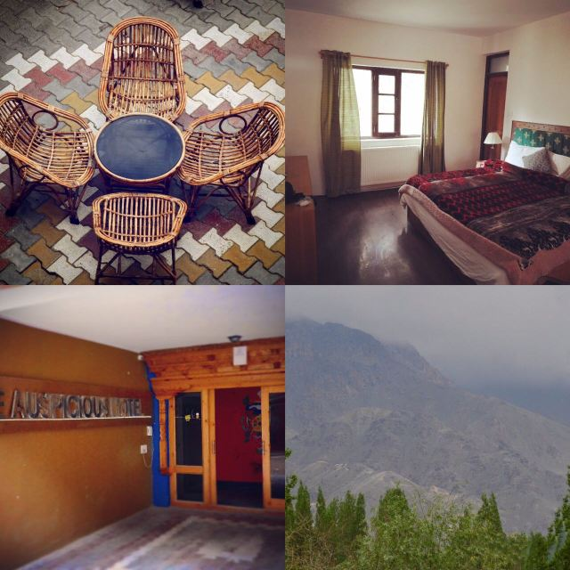 IS HOTEL AUSPICIOUS THE MOST IDEAL HOTEL IN LEH?