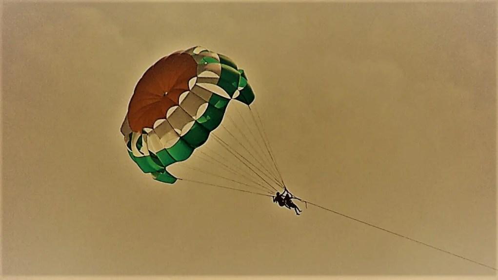 Parasailing at Benaulim beach