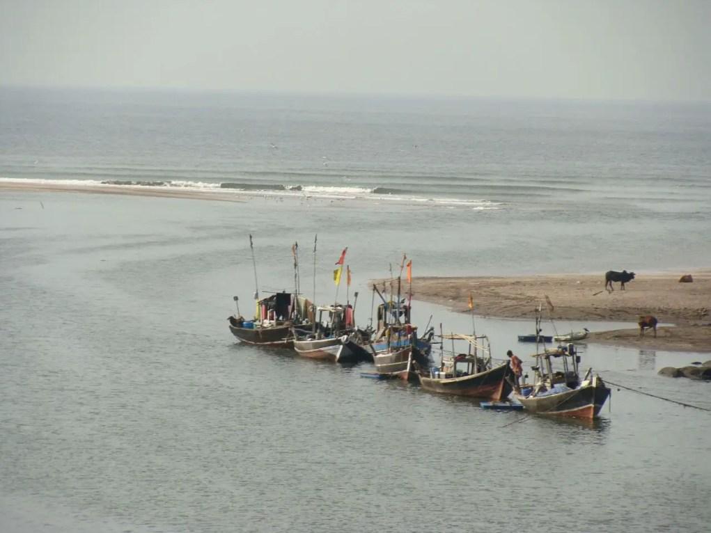 Fishermen's transport in Konkan