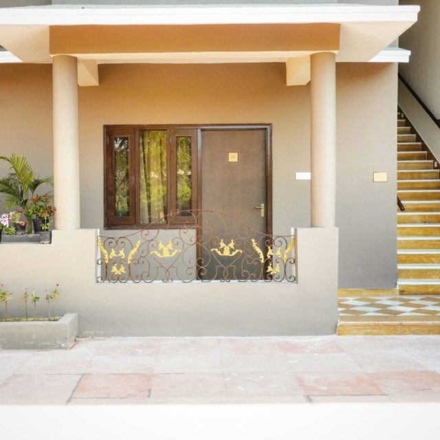 The Entrance of our room at Araliayas Resort