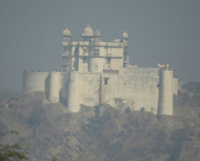 Sajjangarh or Monsoon Palace at Udaipur