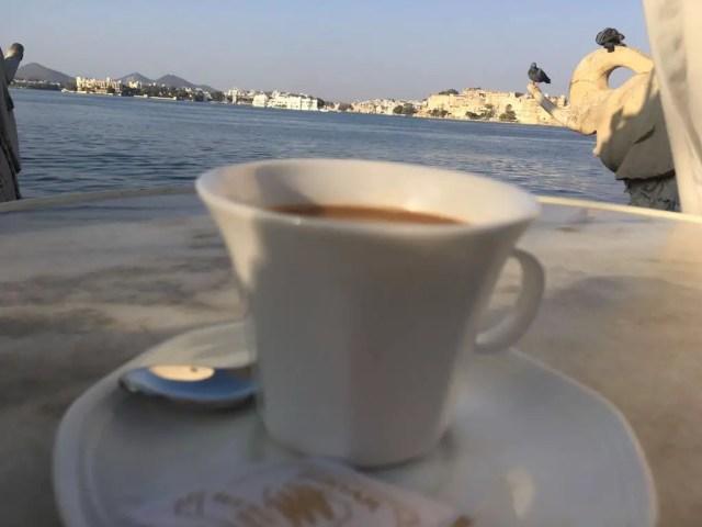 Tea at Jag Mandir Palace