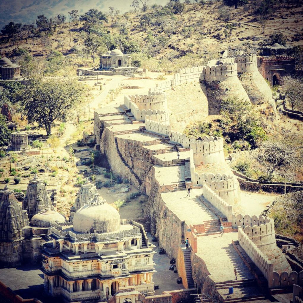 Kumbhalgarh fort wall