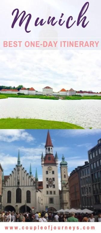Munich Itinerary Pin