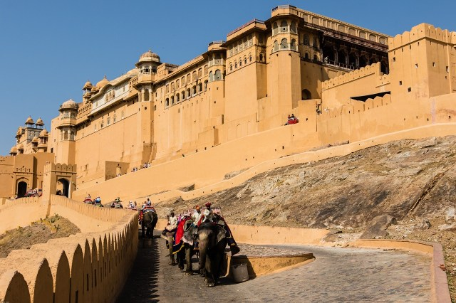 Amber Fort or Amer Fort in Jaipur