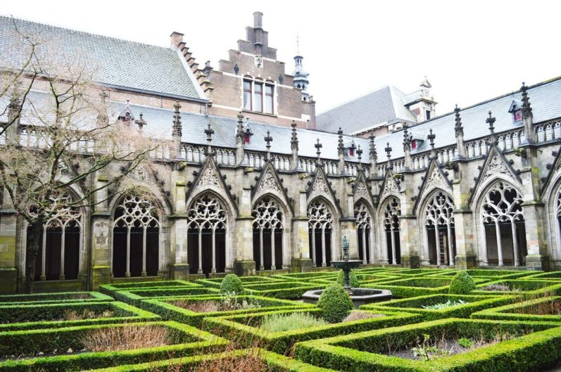 Dom Garden Utrecht Puha Shopping Route Gay Couple City Weekend Utrecht © Coupleofmen.com