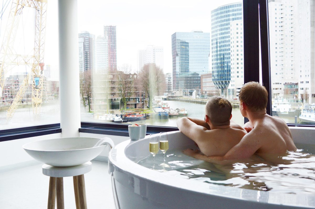 Our Gay Couple City Weekend Rotterdam Netherlands | © CoupleofMen.com