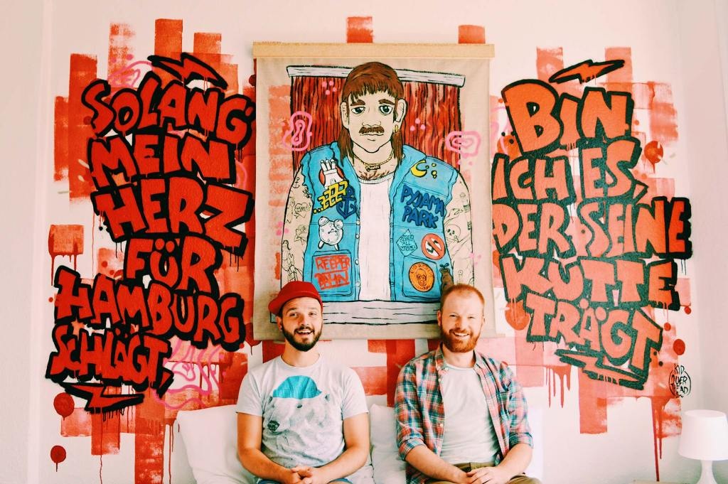 Pyjama Park Hostel Hotel Hamburg Reeperbahn | Gay Couple City Weekend Hamburg Germany © CoupleofMen.com