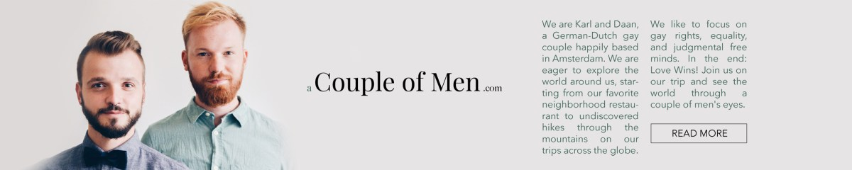 About us - Couple of Men Gay Travel Blog coupleofmen.com