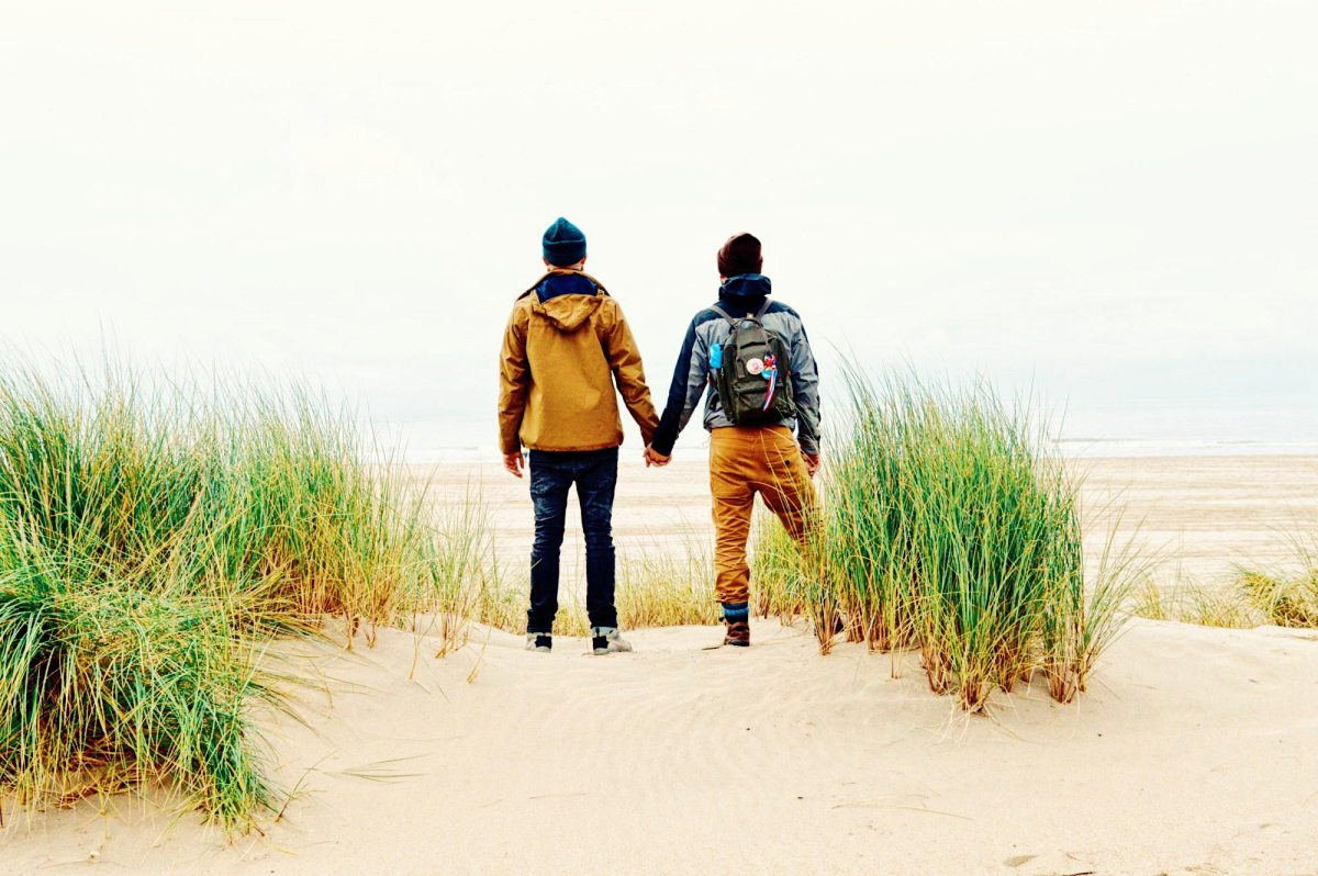 Gay Couple Weekend on the Dutch Island Vlieland in Autumn