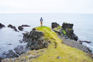 Karl could stand there for hours   Gay Couple Road Trip East Iceland © Coupleofmen.com