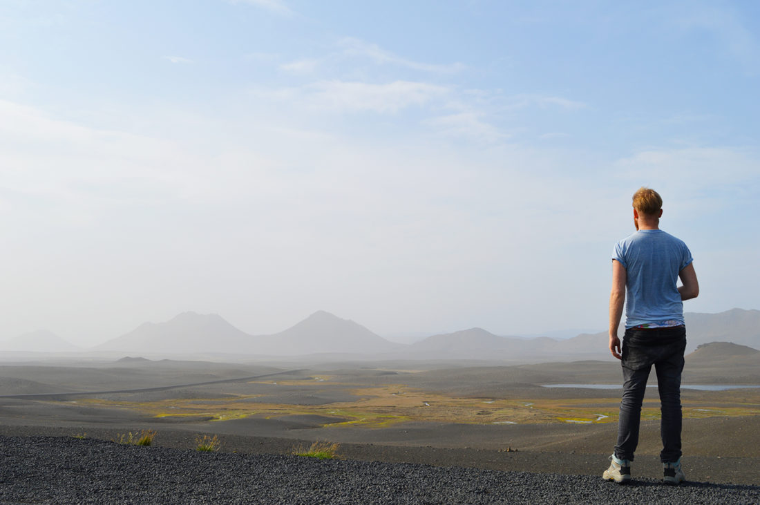 Look at the view! | Gay Couple Road Trip East Iceland © Coupleofmen.com