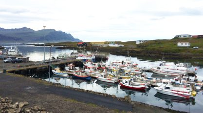 Small fisher village Djúpivogur | Gay Couple Road Trip East Iceland © Coupleofmen.com