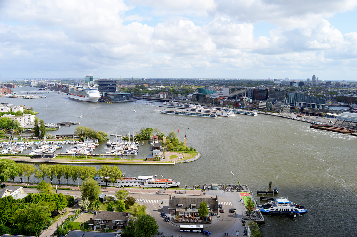 The Best Amsterdam view A'DAM LOOKOUT © CoupleofMen.com