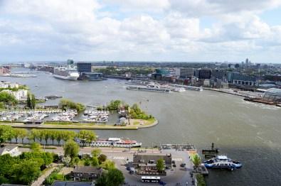 The Best Amsterdam view A'DAM LOOKOUT © CoupleofMen.com