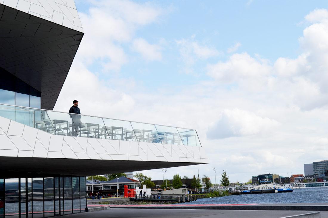 EYE Film Museum | Gay Couple City Weekend Amsterdam Netherlands © CoupleofMen.com