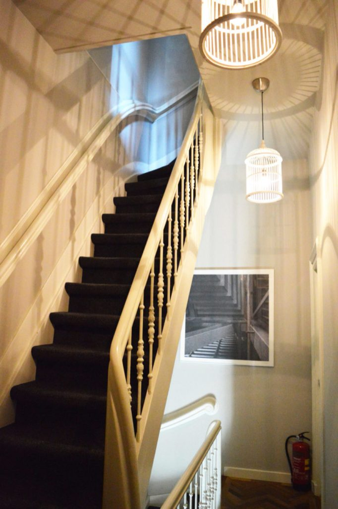 Hall way of the Mansion in Nijmegen | Boutique Hotel Sleep-Inn Box 5 Nijmegen © CoupleofMen.com