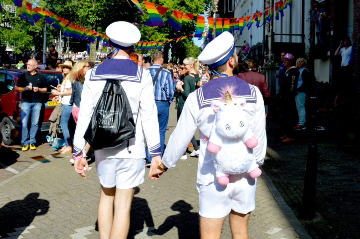 Strong Photos of the Gay Euro Pride Amsterdam 2016