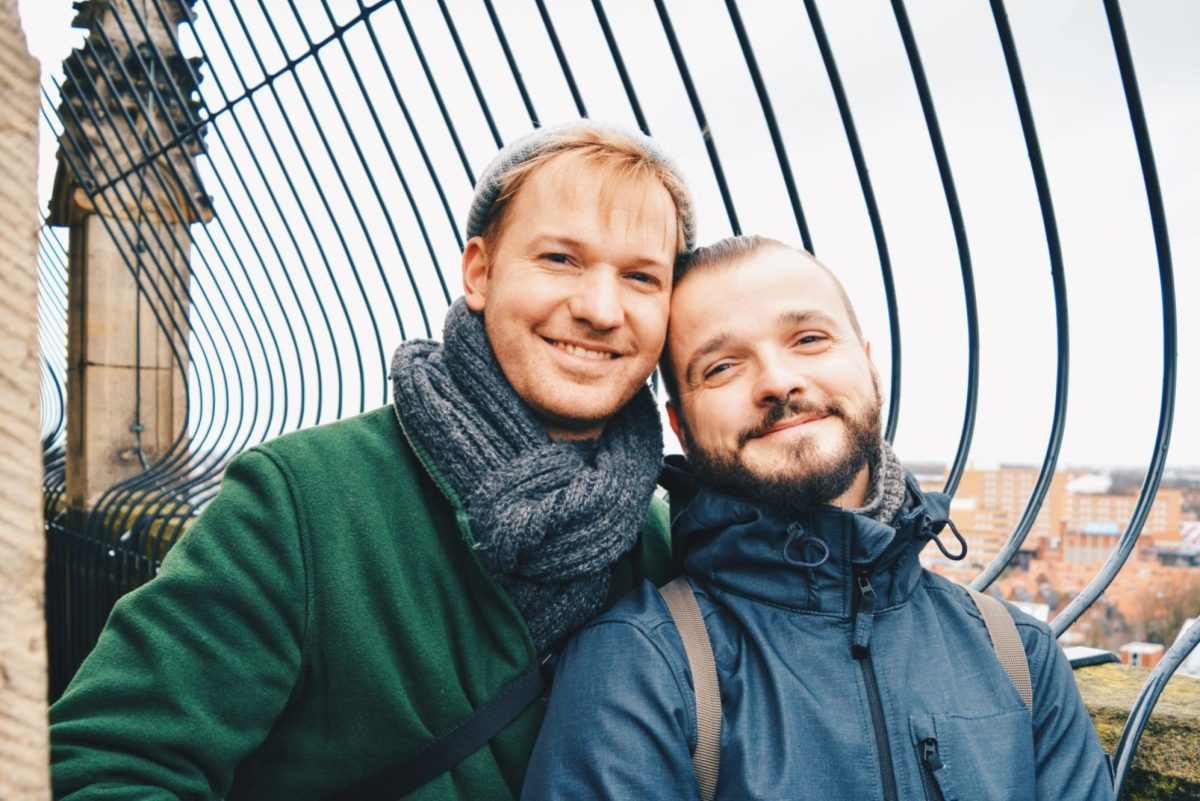 Gay Couple City Weekend Groningen © CoupleofMen.com