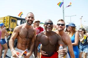 Sexy Photos Tel Aviv Gay Pride Parade 2016 © CoupleofMen.com