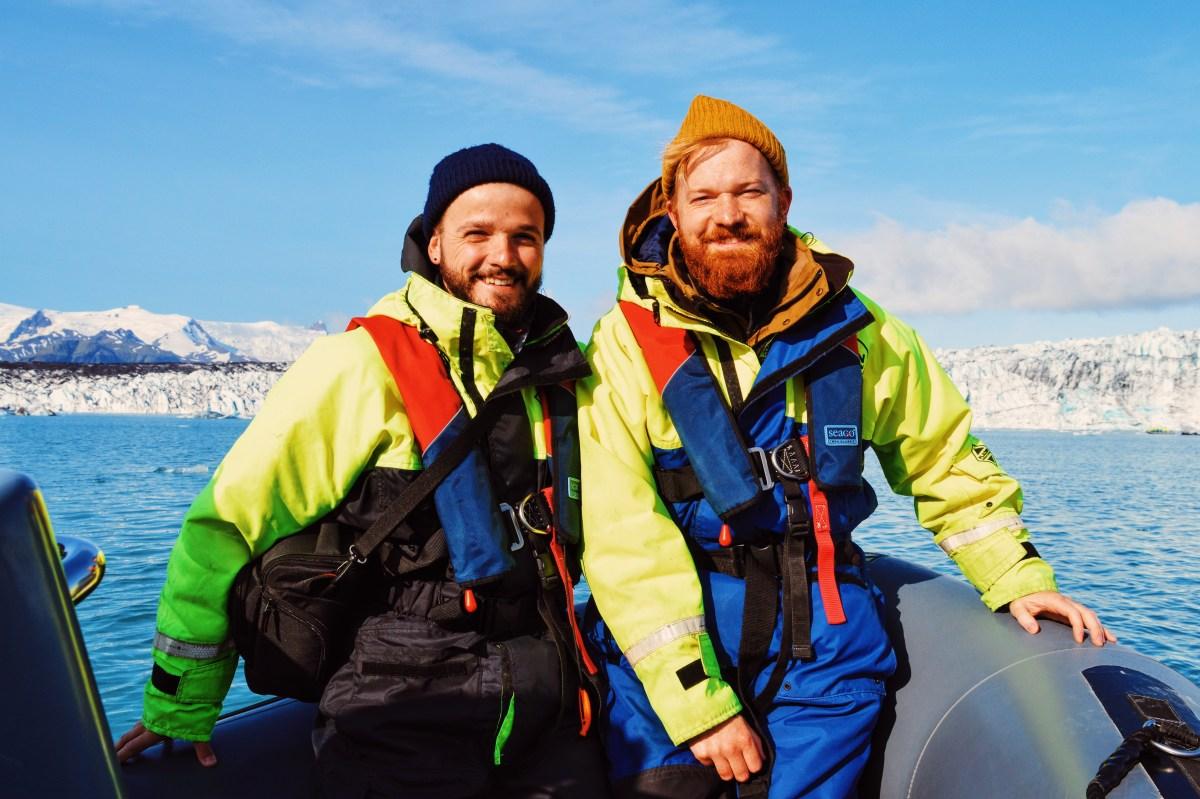 Zodiac Tour over the Glacier Lagoon Jökulsárlón | Iceland