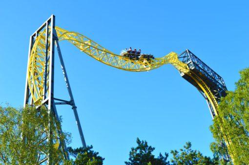 7 Roller Coaster | Our Gay Couple Review Theme Park Linnanmäki Helsinki Finland © Coupleofmen.com