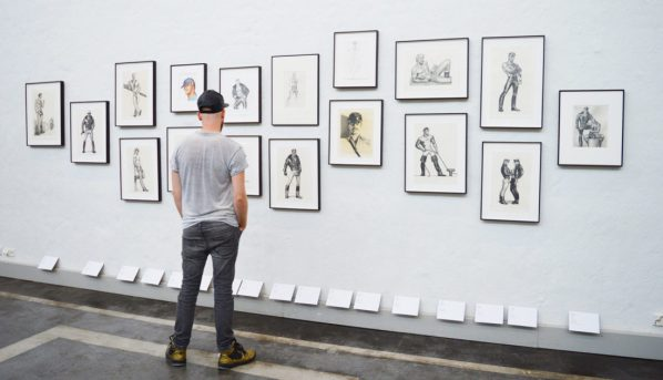 Tom of Finland Exhibition at Taidehalli | Gay Couple City Weekend Helsinki Finland © Coupleofmen.com