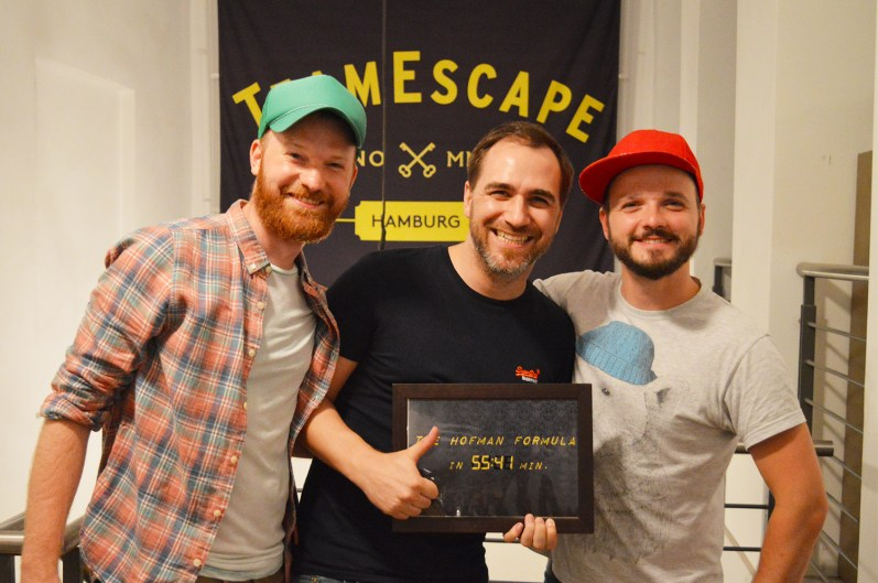 Escape Room Team Escape | Gay Couple City Weekend Hamburg Germany © CoupleofMen.com