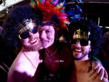 Tips European Gay Cruise Where are you from Party | Gay Men Tips La Demence The Cruise © CoupleofMen.com