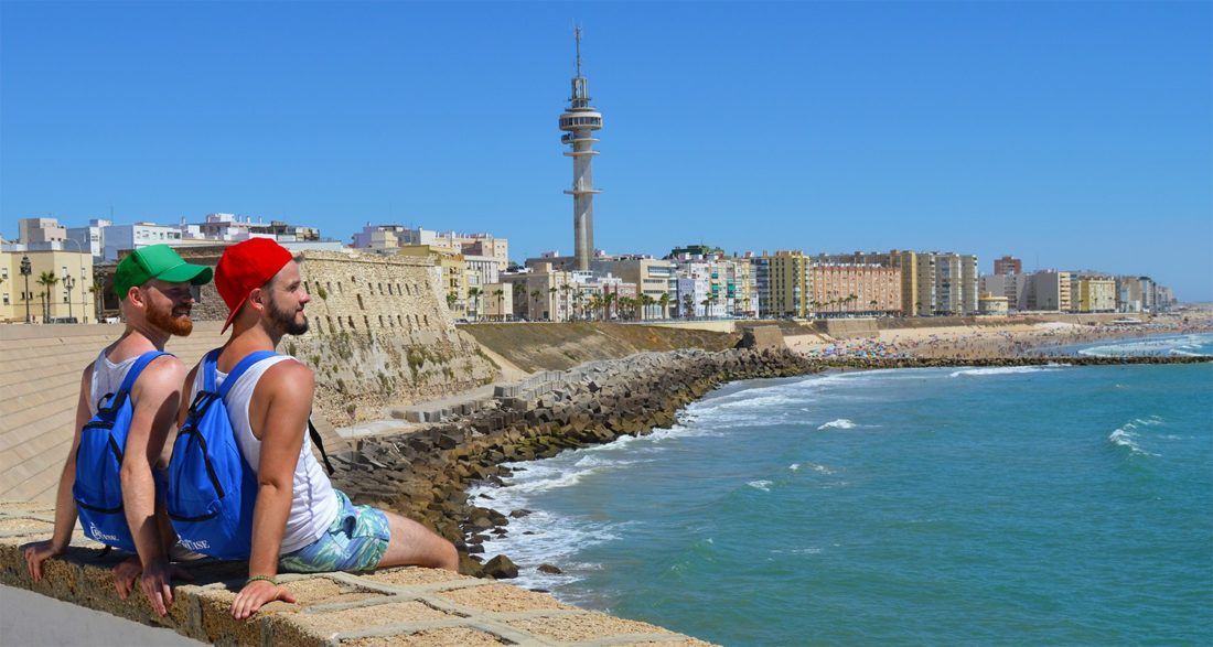 One Day in Cadiz | Gay Couple Diary La Demence Cruise © CoupleofMen.com