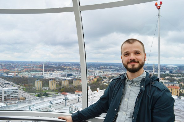 View over Stockholm's Globe Arena | Gay Surprises Eurovision Song Contest Stockholm 2016 © CoupleofMen.com