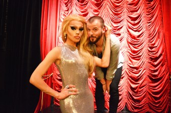 "Drag Show ""Dragtastic Thursday in Stockholm | Gay Surprises Eurovision Song Contest Stockholm 2016 © CoupleofMen.com"