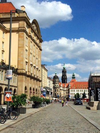 Gay Couple City Weekend Dresden
