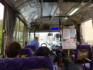 Bus to Takijiri-Oji | Gay Couple Pilgrimage Kumano Kodo Japan © CoupleofMen.com